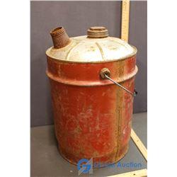 Vintage Metal Gas Can