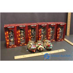 (9) Costco Christmas Ornaments