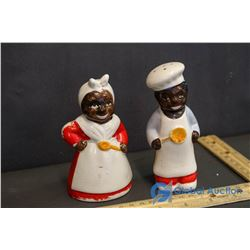 Porcelain Salt and Pepper Shakers Made in Occupied Japan