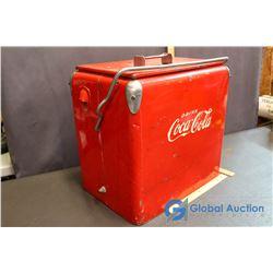 Vintage Drink Coca- Cola Cooler