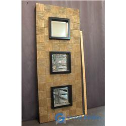 """Decorative Mirror Wall Art (49""""X20"""")"""