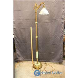5 Foot Vintage Floor Lamp