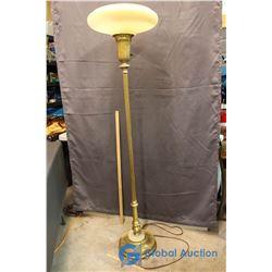 """Vintage Floor Lamp - 64"""" Tall"""