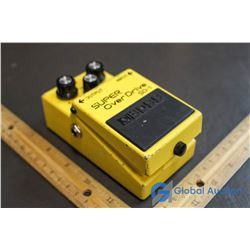 Boss Over Drive Guitar Pedal
