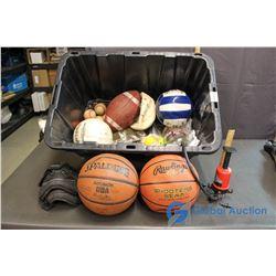 Table Tennis, Softball, Baseball, Basketball, Volleyball, etc.