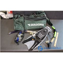 Diadora Bag and Water Sport Gear (Flippers, Snorkles, Goggles)