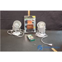 (2) Lights and Auto Air Purifier