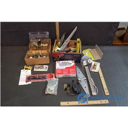 Doorknobs, Locks, Hinges, Metal Brackets etc.