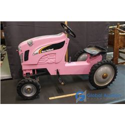New Holland Kids Pedal Tractor