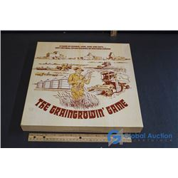 "Vintage Board Game - ""The Graingrowin Game"""