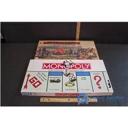"Board Games - (NIB) Vintage ""Ploughshares""(A Co-operative Adventure Game) & ""Monopoly"""