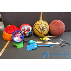 Assortment of Outdoor Toys