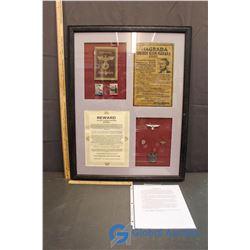 WWII Hitler Memorabilia Collection