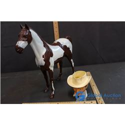 Roy Rogers Cup and Toy Horse