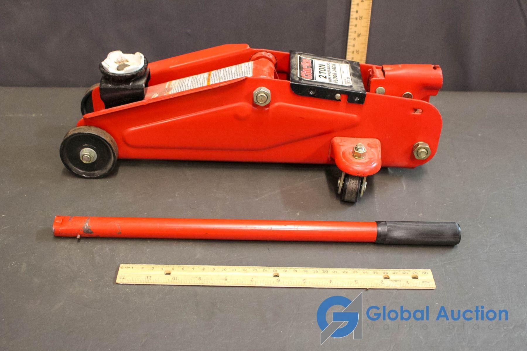 Clarke 2 Ton Mini Hydraulic Floor Jack