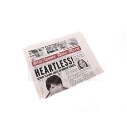 Once Upon a Time - Storybrooke Newspaper 'Heartless' (3212)