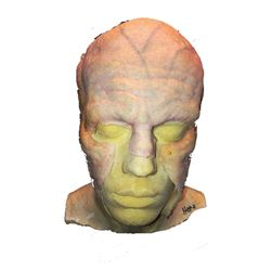 The Strain - Actor Lifecast & Makeup for Strigoi character