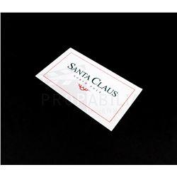 The Santa Claus 2 - Santa's Business Card Prop