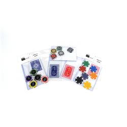 Molly's Game - Poker Chips and Playing Card Prop Set