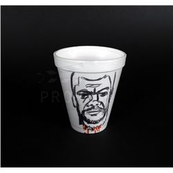 Jumper - Sam Jackson Art on Styrofoam Cup Prop (0001)