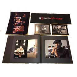 Operation Endgame - Set of items including Producers photo album, Chairback and misc.