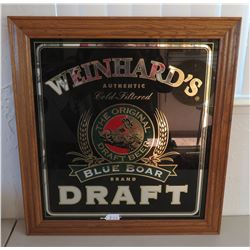 Framed Beer Advertising