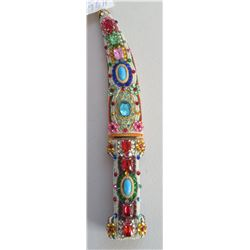 Jewelled Middle Eastern Dagger