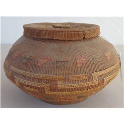 Tlingit Basket w/Lid