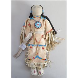 Fine Plains Deerskin Doll