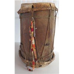 Large Antique South American Drum