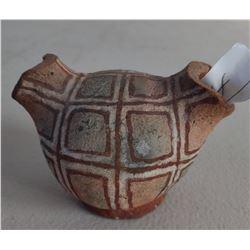Mojave Double-Spout Painted Pot