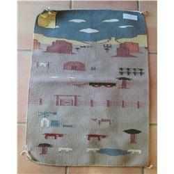 Navajo Pictoral Tapestry