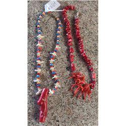 2 Navajo Necklaces