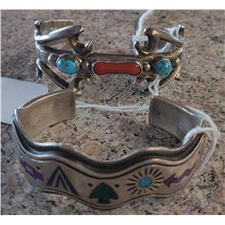 2 Old Navajo Cuffs