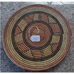 African Wicker Basket