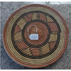 African Wicker Basket