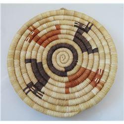 Hopi Coil Basket w/Deer