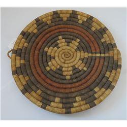 Hopi Navajo-style Coil Wedding Basket