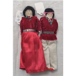 Pair of Navajo Indian Dolls