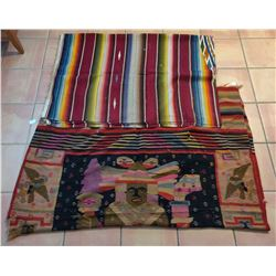 2 Large Mexican Weavings