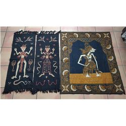 3 Indonesian Weavings