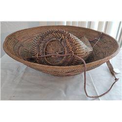2 Indonesian Baskets