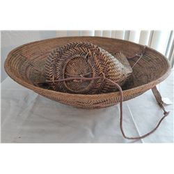 2 Indonesian Baskets