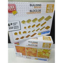 2 New 250 piece each Building Blocks same as and works with [ LEGO ]