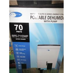 Whynter Elite D-Series Portable DeHumidifier with Pump / # RPD-711DWP