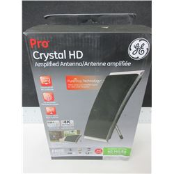 New GE Crystal HD Amplified Antenna / full hd 1080p 4k ultra hd