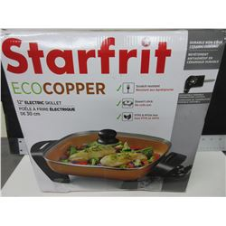 "New Starfrit ECO Copper 12"" Electric Skillet / non stick scratch resistant"