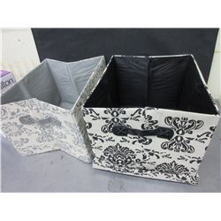 Folding Fabric Box's / Great for your trunk to keep things from rolling around