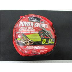 New Power Sports Booster Cables for ATV's - Sleds - SxS & Bikes