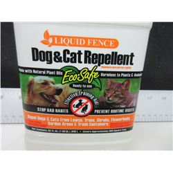 New Liquid Fence Dog & Cat Repellant / Stop bad habits /cats out of  flower gardens